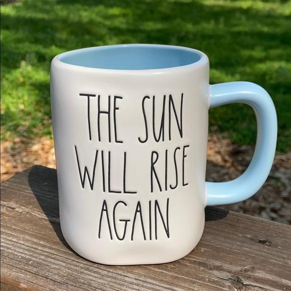 New Rae Dunn THE SUN WILL RISE AGAIN Coffee Mug